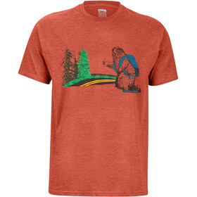 Marmot Trek T-shirt Homme, picante heather